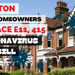 Brixton OAP Homeowners to Face £31,016 Coronavirus Tax Bill