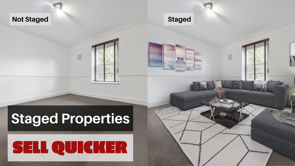 Staged Properties, Sell Quicker