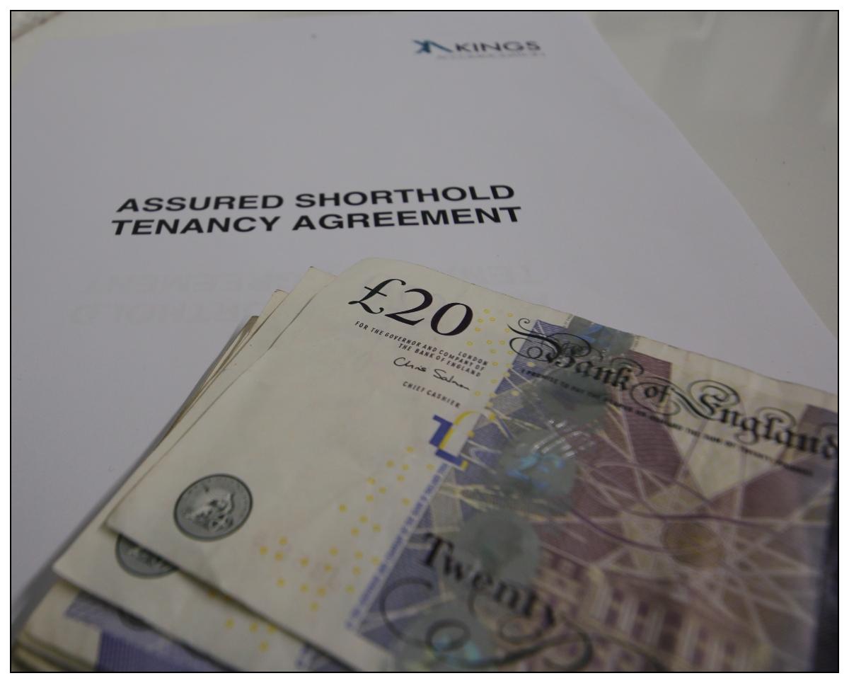 landlords rental fee back